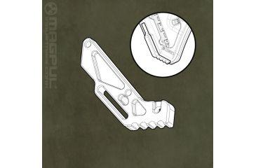 Magpul UBR Aluminum Strike Plate MPIMAG331