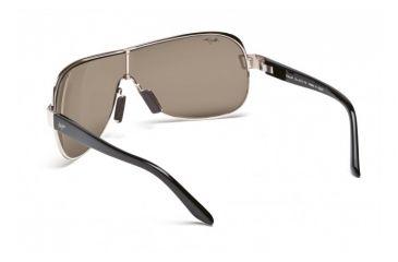 Maui Jim Maka Sunglasses w/ Gold Frame and HCL Bronze Lenses - H513-16, Back View
