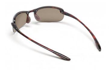 Maui Jim Makaha Sunglasses w/ Tortoise Frame and HCL Bronze Lenses - H405-10, Back View