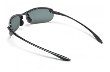 Maui Jim Makaha Reader Sunglasses w/ Gloss Black Frame and Neutral Grey 1.50 Magnification Lenses - G805-0215, Back View