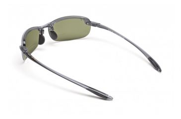 Maui Jim Makaha Reader Sunglasses w/ Smoke Grey Frame and Maui HT 1.50 Magnification Lenses - HT805-1115, Back View