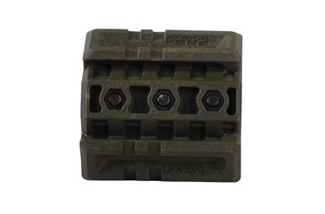 Mako Group Double Picatinny Rail for AR15/M16/M4, OD Green DPR164OD