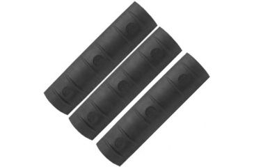 Mako Group Protective Ladder Rail Covers - Long, Black - Set of Three LRCL-3