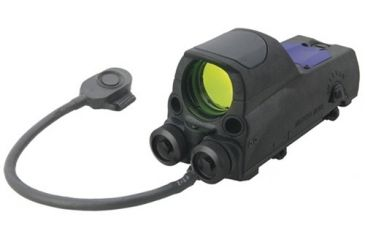 Mako Group Multi-purpose Reflex Sight with Red Laser (5mw) Pointer, Bullseye w/Quick Release Flat Top Adapter Mepro MOR B