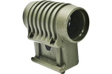 Mako Group Tactical 1inch Flashlight Side Mount - OD Green PLS1OD