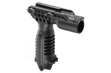 Mako Group Vertical Foregrip w/Bipod and 1in Light Adapter Black T-PodFAB
