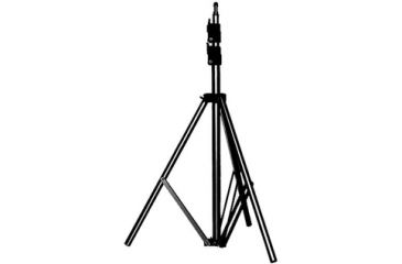 "Manfrotto Bogen Manfrotto 6' Basic Black Light Stand, 5/8"" Stud+015 Top 366B"