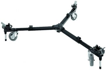 Manfrotto Bogen Variable Spread Video Dolly With 3'' Wheels 127VS