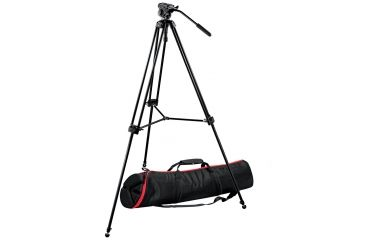 Manfrotto KIT Video Telescopic Tripod Twin LEG 701HDVMVT502AM