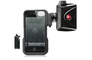 Manfrotto KLYP case for iPhone4-4S with ML240 LED light MKLKLYP0