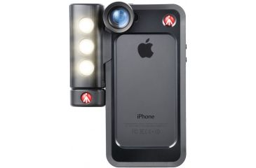 Manfrotto Klyp+ Set of 3 lenses for iPhone 5/5S - Fisheye-Portrait-1.5X-wideangle MOKLYP5S
