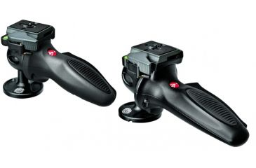 Manfrotto Light Duty Grip 327RC2 and 324RC2 Ball Heads