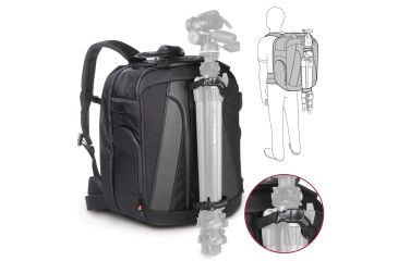 Manfrotto Lino Pro VII Backpack Tripod Snaps