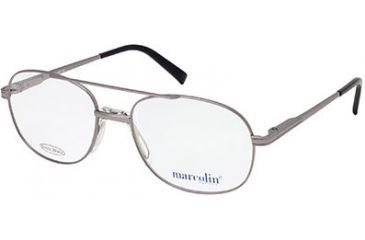 Marcolin MA6804 Eyeglass Frames - Shiny Gun Metal Frame Color