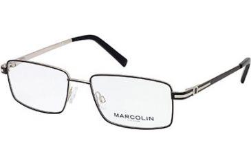 Marcolin MA6809 Eyeglass Frames - Matte Black Frame Color