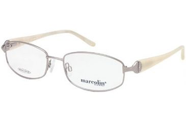 Marcolin MA7298 Eyeglass Frames - Shiny Gun Metal Frame Color
