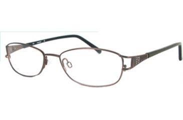 Marcolin MA7301 Eyeglass Frames - Shiny Light Brown Frame Color
