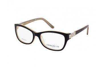 Marcolin MA7319 Eyeglass Frames - Black Frame Color