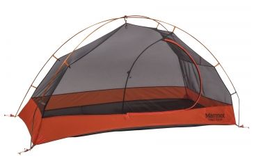 Marmot Tungsten 1P Tent - 1 Person 3 Season-Blaze/Steel  sc 1 st  Optics Planet & Marmot Tungsten 1P Tent - 1 Person 3 Season | 4.6 Star Rating ...