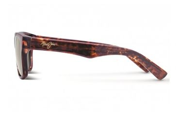 Maui Jim Maui Cat III Sunglasses w/ Tortoise Frame and HCL Bronze Lenses - H209-10, Side View