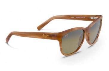 Maui Jim Ailana - Universal Fit Sunglasses, HCL Bronze, Matte Sandstone HS273N-22M