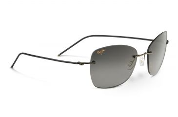 b2f57df3a832 Maui Jim Apapane Sunglasses, Neutral Grey, Dark Gunmetal with Black Sleeve  GS717-02D