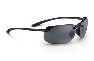 552664208d04 Maui Jim Banyans Sunglasses w/ Gloss Black Frame and Neutral Grey Lenses -  412-