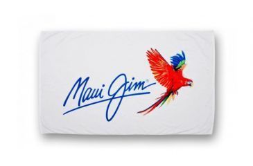 Maui Jim Beach Towel White