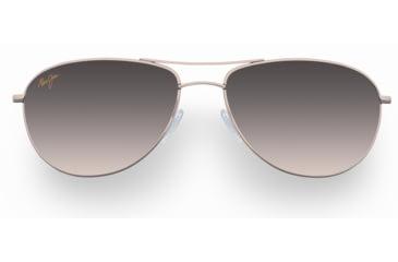 Maui Jim Baby Beach Sunglasses - Gold Frame, HCL Bronze Lenses - HS245-16