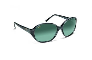 Maui Jim Gs221 27 Ginger Charcoal Frame Grey Lens Sunglasses