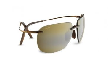 Maui Jim H527 26 Nakalele Rootbeer And Copper Frame Hcl Bronze Lens Sunglasses