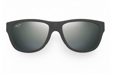 Maui Jim Maui Cat III Sunglasses - Matte Black Rubber Frame, Neutral Grey Lenses - 209-2M