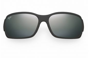 Maui Jim Hamoa Beach Sunglasses - Matte Black Rubber Frame, Neutral Grey Lenses - 226-2M