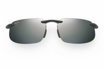Maui Jim Kanaha Sunglasses - Gloss Black Frame, Neutral Grey Lenses - 409-02