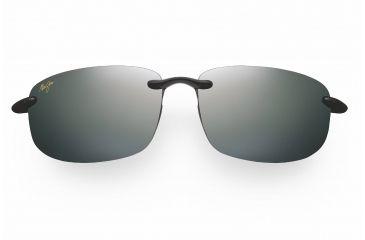 Maui Jim Ho'okipa Reader Sunglasses - Gloss Black Frame, Neutral Grey Lenses