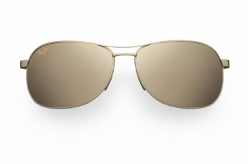 Maui Jim Akoni Sunglasses - Gold Frame, HCL Bronze Lenses - H117-16