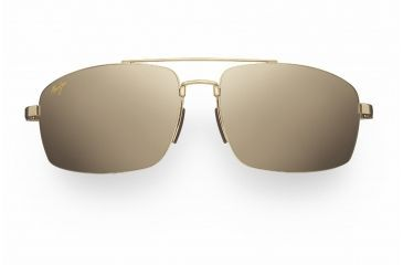 Maui Jim Sandalwood Sunglasses - Gold Frame, HCL Bronze Lenses - H217-16