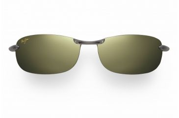 Maui Jim Makaha Reader Sunglasses - Smoke Grey Frame, Maui HT Lenses