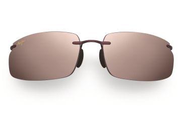 Maui Jim Big Beach Sunglasses - Burgundy Frame, Maui Rose Lenses - R518-07