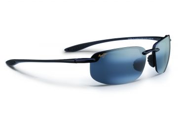 2d7c88372313 Maui Jim Hookipa Sunglasses,Universal Fit - Gloss Black Frame,Polarized  Neutral Grey Lens