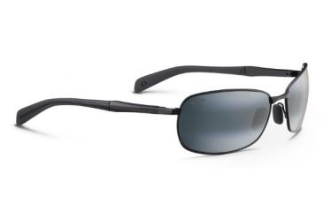 3def028b7a3 Maui Jim Long Beach Sunglasses, Neutral Grey, Matte Black w/ Black Temples  240