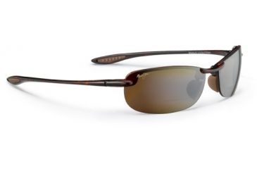 Maui Jim Makaha Reader Sunglasses - Tortoise Frame and HCL Bronze +1.50 Polarized Lens - Universal Fit H805N-1015