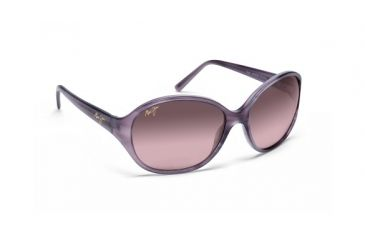 Maui Jim Rs221 13 Ginger Mauve Frame Maui Rose Lens Sunglasses