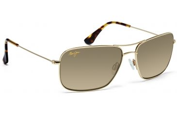 Maui Jim Wiki Wiki Sunglasses w/ Gold Frame and HCL Bronze Lenses - HS246-16