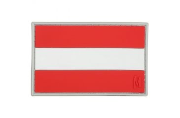 Maxpedition Austria Flag Patch, Full Color, 3in x 1.9in OSTRC