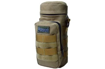 "Maxpedition 10"" X 4"" Water Bottle Holder Pouch - Khaki 0325K"