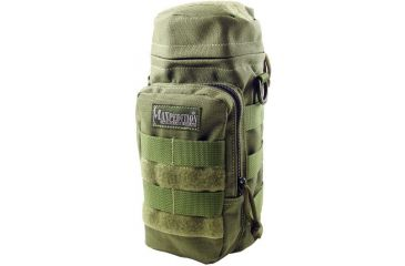 """Maxpedition 10"""" X 4"""" Water Bottle Holder Pouch - OD Green 0325G"""