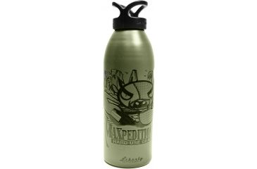Maxpedition 32oz Water Bottle, SEA, Woodland LB32SEAW