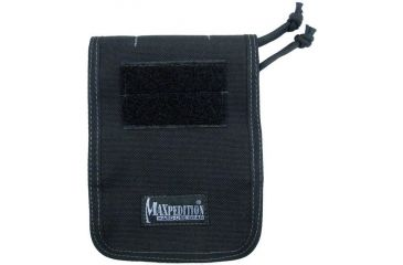 """Maxpedition 4"""" X 6"""" Notebook Cover - Black 3303B"""