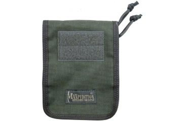 """Maxpedition 4"""" X 6"""" Notebook Cover - Foliage green 3303F"""